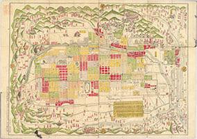 京都繪圖 : 全 : 附り上下京區分名録 1