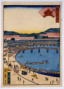 都名所百景 後半 伏見京橋