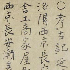 中昔京師地圖 : 皇州緒餘撰部