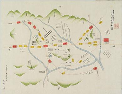 濃州関ケ原御合戰之圖 : 慶長五庚子年九月 1