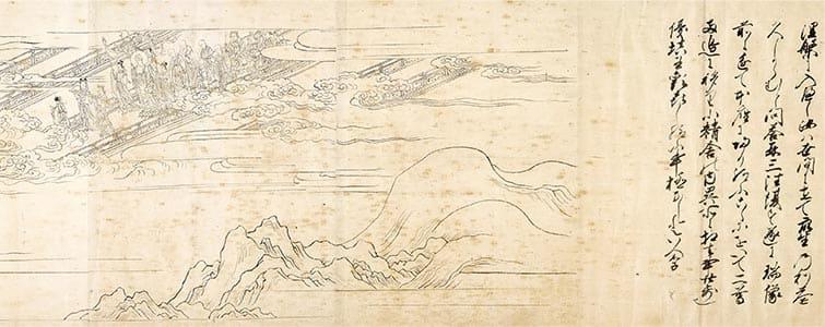 清凉寺縁起繪詞 第3